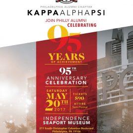 95th Anniversary Celebration Flyer
