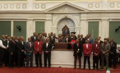 Philadelphia Kappas visit City Hall