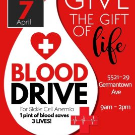April 7, 2018 Blood Drive Flyer