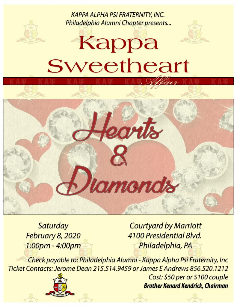 2020 Kappa Sweetheart Affair Ad