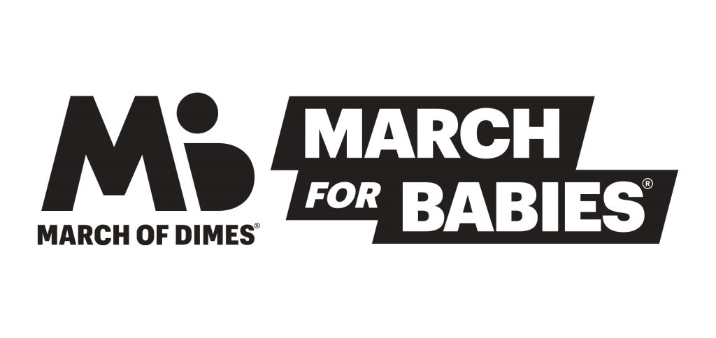 Logo March of Dimes March For Babies
