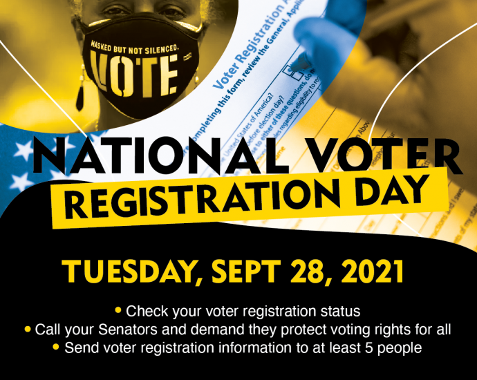 NAACP National Voter Registration Day